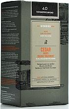 Духи, Парфюмерия, косметика Краска для волос - Korres Cedar Men's Colour Treatment Hair Colorant