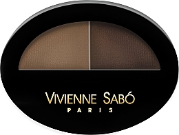Духи, Парфюмерия, косметика Тени для бровей - Vivienne Sabo Brow Arcade