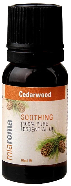 "Эфирное масло ""Кедр"" - Holland & Barrett Miaroma Cedarwood Pure Essential Oil — фото N2"