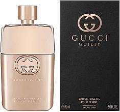 Духи, Парфюмерия, косметика Gucci Guilty Eau de Toilette Pour Femme - Туалетная вода