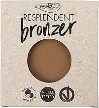 Духи, Парфюмерия, косметика Бронзер - PuroBio Cosmetics Resplendent Bronzer (сменный блок)