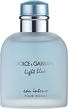 Духи, Парфюмерия, косметика Dolce & Gabbana Light Blue Eau Intense Pour Homme - Парфюмированная вода