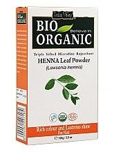 Духи, Парфюмерия, косметика Порошок листьев хны для окрашивания волос - Indus Valley Bio Organic Henna Leaf Powder