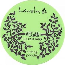 Духи, Парфюмерия, косметика Прозрачная пудра для лица - Lovely Vegan Loose Powder Setting Powder