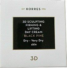 Духи, Парфюмерия, косметика Дневной крем для лица - Korres 3D Scuplting, Firming & Lifting Day Cream Dry And Very Dry Skin