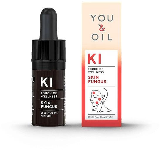 Смесь эфирных масел - You & Oil KI-Skin Fungus Touch Of Welness Essential Oil — фото N1