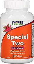 Духи, Парфюмерия, косметика Мультивитамины, 180 таблеток - Now Foods Special Two Multi Vitamin