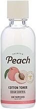 Духи, Парфюмерия, косметика Тонер для лица - Skinfood Premium Peach Cotton Toner