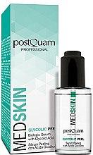 Духи, Парфюмерия, косметика Гликолиевая сыворотка-пилинг для лица - PostQuam Med Skin Glycolic Peeling Serum