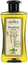 """Шампунь для волос """"Большой объем"""" с кератином и экстрактом меда - Melica Organic Volume Shampoo — фото N1"""