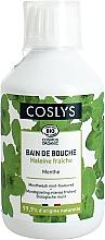 Ополаскиватель для комплексной защиты ротовой полости и придания свежести с органической мятой - Coslys Toothpaste Mouth Wash — фото N1