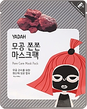 Духи, Парфюмерия, косметика Маска для лица тканевая от расширенных пор - Yadah Pore Care Mask Pack