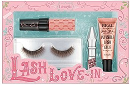 Духи, Парфюмерия, косметика Набор - Benefit Lash Love In (mascara/mini/4g+brow/gel/1,5g+lash/2+ lash/glue/7ml)