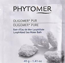 Духи, Парфюмерия, косметика Ванна из морской лиофилизированной воды - Phytomer Oligomer Lyophilized Seawater Bath