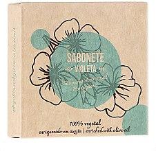 "Духи, Парфюмерия, косметика Натуральное мыло ""Фиалка"" - Essencias De Portugal Senses Violet Soap With Olive Oil"