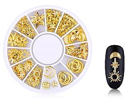 """Духи, Парфюмерия, косметика Украшения для ногтей """"Gold-4"""" - Deni Carte"""