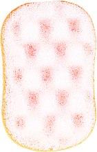 Духи, Парфюмерия, косметика Мочалка для душа, 6019, бело-оранжевая - Donegal