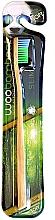 Духи, Парфюмерия, косметика Зубная щетка мягкая, синяя+зеленая - Woobamboo Toothbrush Slim Soft