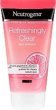 Духи, Парфюмерия, косметика Скраб для лица с розовым грейпфрутом и витамином С - Neutrogena Refreshingly Clear Daily Exfoliator