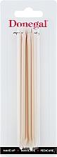 Духи, Парфюмерия, косметика Апельсиновые палочки для маникюра 12 см, 9208 - Donegal