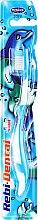 Духи, Парфюмерия, косметика Детская зубная щетка Rebi-Dental M16, мягкая, голубая - Mattes