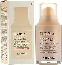 Духи, Парфюмерия, косметика Увлажняющий крем с аргановым маслом - Tony Moly Floria Nutra Energy 100 Hours Cream