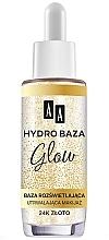 Духи, Парфюмерия, косметика Фиксирующая база под макияж - AA Hydro Baza Glow