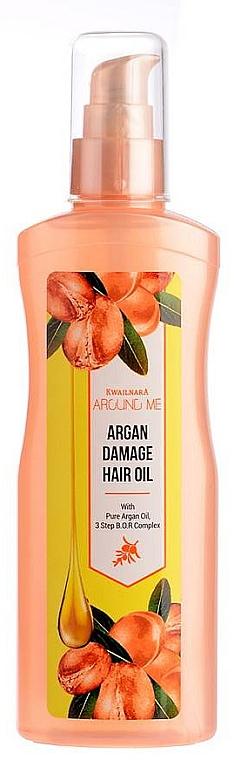 Масло для поврежденных волос - Welcos Around Me Argan Damage Hair Oil — фото N1