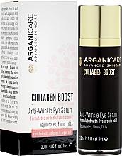 Духи, Парфюмерия, косметика Сыворотка от морщин для контура глаз - Arganicare Collagen Boost Anti Wrinkle Eye Serum