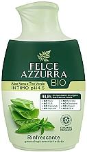 Духи, Парфюмерия, косметика Жидкое мыло для интимной гигиены - Felce Azzurra BIO Aloe Vera&Green Tea