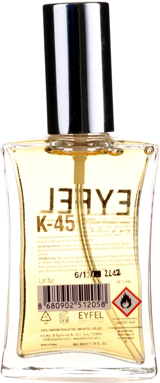 Eyfel Perfume K-45 - Парфюмированная вода  — фото N2