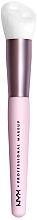 Духи, Парфюмерия, косметика Кисть для макияжа - NYX Professional Makeup Bare With Me Shroombiotic Serum Brush