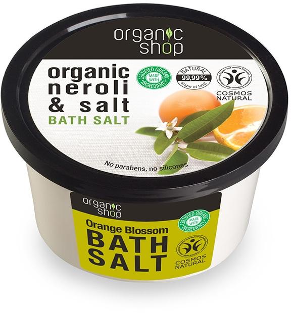 """Соль для ванн """"Цветы апельсина"""" - Organic Shop Baths Salt Organic Neroli & Salt — фото N1"""