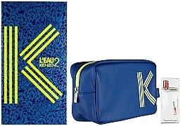 Духи, Парфюмерия, косметика Kenzo L'Eau 2 Kenzo pour Homme - Набор (edt/50ml + bag)