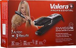 Духи, Парфюмерия, косметика Выпрямитель волос - Valera Swiss'x Super Brush & Shine