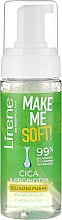 Духи, Парфюмерия, косметика Пенка для умывания - Lirene Make Me Soft Cica & Probiotyk