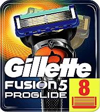 Духи, Парфюмерия, косметика Сменные кассеты для бритья, 8 шт. - Gillette Fusion ProGlide