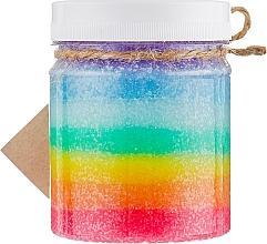 """Духи, Парфюмерия, косметика Скраб-жвачка """"Радужный леденец"""" - Dushka Sweet Desserts Scrub-Chewing Gum"""