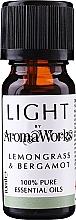"Духи, Парфюмерия, косметика Эфирное масло ""Лемонграсс и бергамот"" - AromaWorks Light Range Lemongrass and Bergamot Essential Oil"