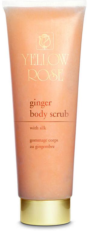 Увлажняющий скраб для тела - Yellow Rose Ginger Body Scrub With Silk — фото N1