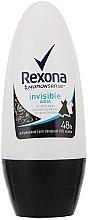 """Духи, Парфюмерия, косметика Дезодорант-ролик """"Invisible Aqua"""" - Rexona Deodorant Roll"""