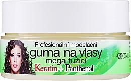 Духи, Парфюмерия, косметика Воск для волос - Bione Cosmetics Keratin + Panthenol Professional Ultra Strong Sculpting Rubber