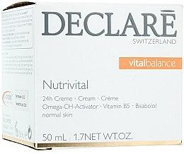Духи, Парфюмерия, косметика Питательный крем 24-часового действия - Declare Nutrivital 24 h Cream