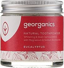 Духи, Парфюмерия, косметика Натуральный зубной порошок - Georganics Eucalyptus Natural Toothpowder