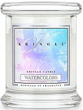 Духи, Парфюмерия, косметика Ароматическая свеча в стакане - Kringle Candle Watercolors