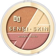 Духи, Парфюмерия, косметика Средство для контурирования лица 3в1 - AA Sensi Skin