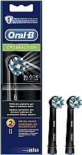 Духи, Парфюмерия, косметика Сменная насадка для электрической зубной щетки Cross Action CA EB50 Black Edition - Oral-B