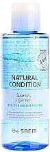 Духи, Парфюмерия, косметика Средство для снятия макияжа с термальной водой - Saem Natural Condition Sparkling Lip Eye Remover