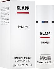 """Духи, Парфюмерия, косметика Флюид """"Радикальное увлажнение"""" - Klapp Immun Radical Moist Complex"""