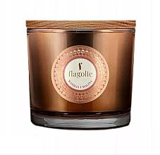 """Духи, Парфюмерия, косметика Ароматическая свеча в стакане """"Ваниль и малина"""" - Flagolie Fragranced Candle Vanilla And Raspberry"""